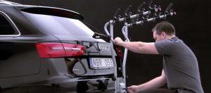 Installer un porte-vélo