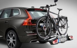 porte-vélos encastrable dans un coffre de voiture